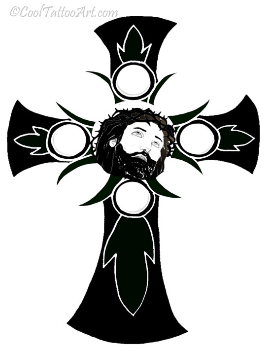 Free Jesus Tattoos Art Designs