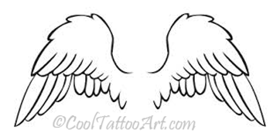 angel wing tattoo angel wing tattoos angel wings tattoo designs angel    Baby Angel Outline
