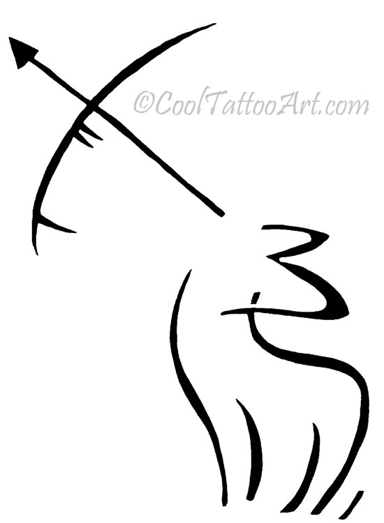 Free Sagittarius Tattoos Art Designs  CoolTattooArts