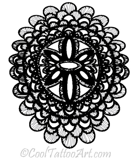 Lace tattoos art designs cooltattooarts for White lace tattoo